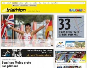 triathlon seminar Hamburg